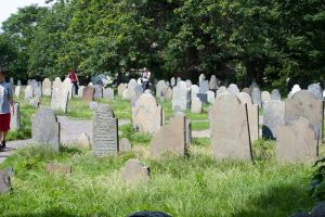 Salem witch graves by photogooroo