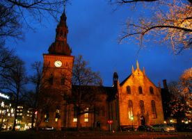 Oslo Cathedral by francis1ari