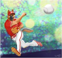 Ballplayer by Koshshshka