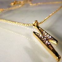 Thunder and Lightning Necklace by Om-Society