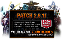 Heroes of Newerth - Patch Screen: 2.6.11 by Moonymage