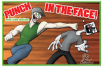 Jacksepticeye: IN THE FACE! by MrBuckalew