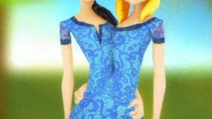 Anna and Hannah - the conjoined twins 3D animation by fgg22