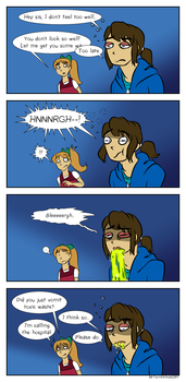 Vomit Comic by MrTwinklehead