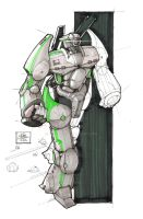 Mech-sketch-1112014 by U037Art