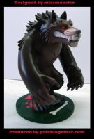 Werewolf toy side by missmonster