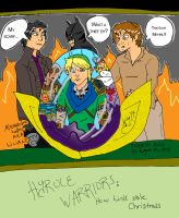 Hyrule Warriors - How Link Stole Christmas by LilianettyPR