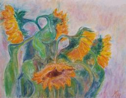 .... just sunflowers ... by MC-blue