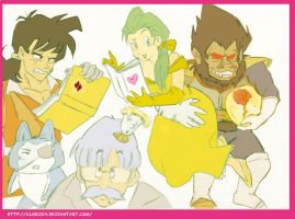 Beauty and the Beast (DBZ VERSION) by Cloris19