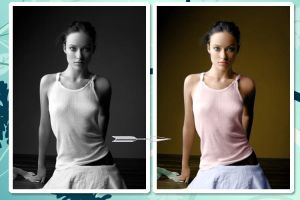 Olivia Wilde colorize by flavia16
