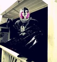 MY COMPLETED VENOM 2099 COSPLAY by symbiote-x