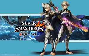 Corrin (B) Wallpaper - Super Smash Bros. Wii U/3DS by AlexTHF