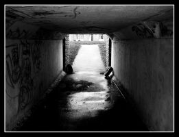 Light at the end of the tunnel by AlexJHH