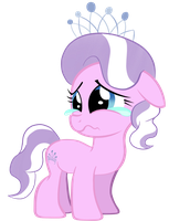 Sad Diamond Tiara by InfernalDalek