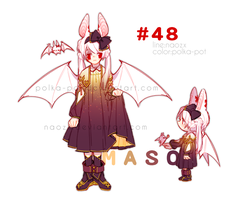 [Halloween MasuSousu] #48 Adopt Auction - CLOSED by Naozx