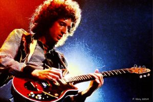 Brian May by paulnery