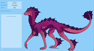 Coral, Dragon OC of MINE by Lost-Irken