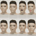 Lil dude faces. by tesseractPhobia