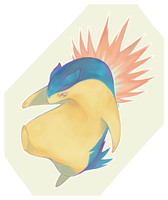 Typhlosion by Kipine