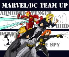 Marvel and DC team up by Deadman0087