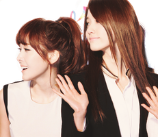 Yoona and Jessica PNG by ShinMing