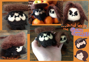 Game Grumps Needle Felted Plush Heads by the-pink-dragon