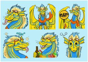 Hasia Brothers Sticker pack - Lemon by Bluehasia