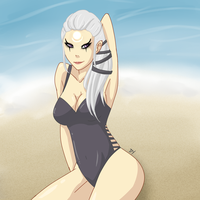 Diana - Scorn of the Beach by DexterYam