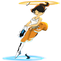 Chell by Irogh