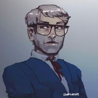 Grunkle Stan by doodlecups