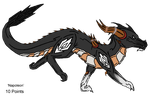 Mecha Dragon Adopt - Adopted by Feralx1