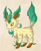 Leafeon by fuwante-chan