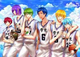 Kuroko no basket : old days by Eternal-S