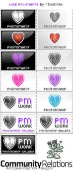 Photomanip Stamp Collection by Destin8x