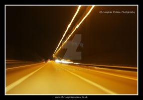 Motorway lights 2 + contrast by bhoy