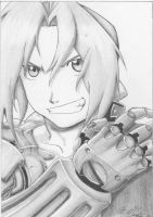 Edward Elric shading study by Diamondcut-Studios