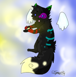 Black The Cat by Sparkylovecupcakes