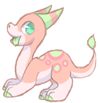 [CLOSED] AUCTION - Pastel dragon by Pinapard