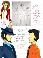 Lupin the fourth conspiracy by kaworuFanboy