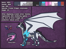 xHDz Reference Sheet by Alkraas