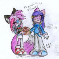 Happy B-day mariah-chan by Wild-Baguette