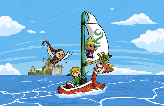 Wind Waker: Embarking on an Epic Adventure by Icy-Snowflakes