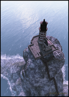 Old Lighthouse by jbjdesigns