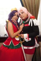 Utena and Anthy by Cadha13