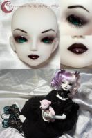 BJD Face Up - Oceanmoon Sa-Yu BoNee by Izabeth