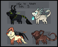 Offer to adopt pups 3 by S-L-U-G-S