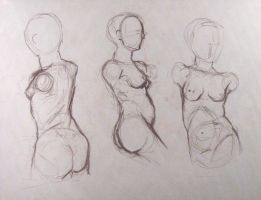 Studies: figure drawing 2 by kasumi-blue