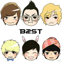 'cursor' BEAST B2ST by annisaretry