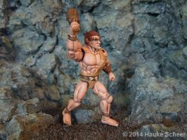 Caveman 3D printed Action Figure painted 03 by hauke3000