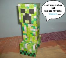 my pet creeper by ThePixelCreator
